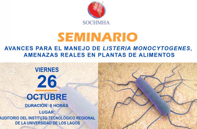 Seminario: Avances Para El Manejo De Listeria Monocytogenes, Amenazas Reales En Plantas De Alimentos